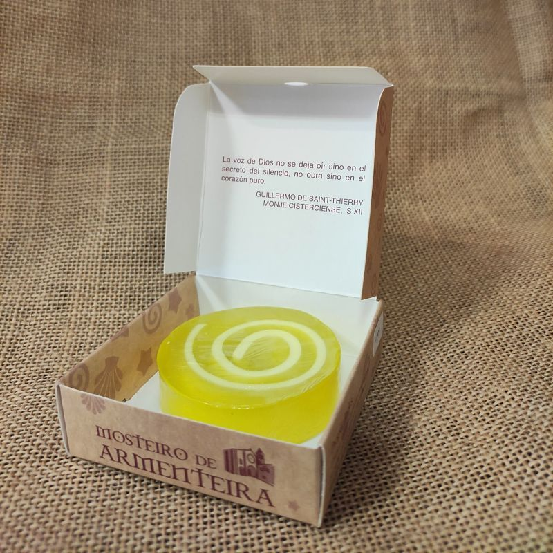 jabon glicerina natural limon