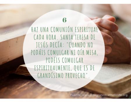 Consejos para orar Carmelitas 6