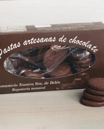 pastas de chocolate monasterio nuestra señora de belen