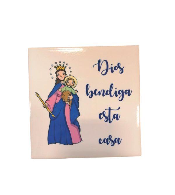 azulejo virgen